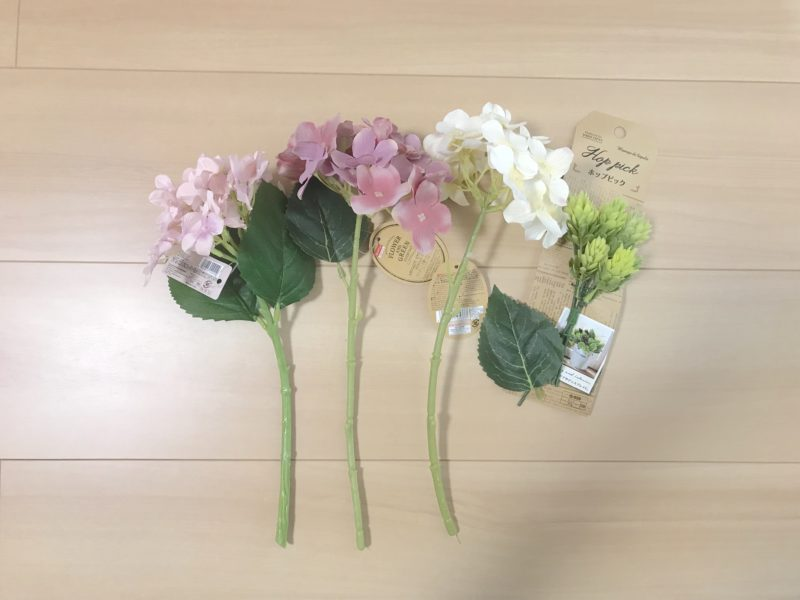 手作り花冠(花かんむり)の作り方
