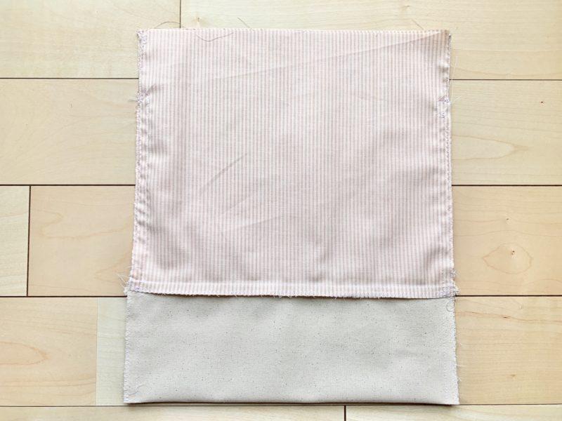 初心者でも簡単お着がえ袋の作り方